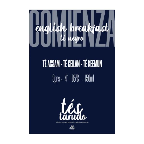 Infusión Té Negro English...
