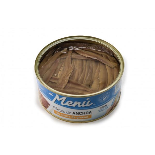 """Anchoa """"el Menú"""" lata 1 kg"""